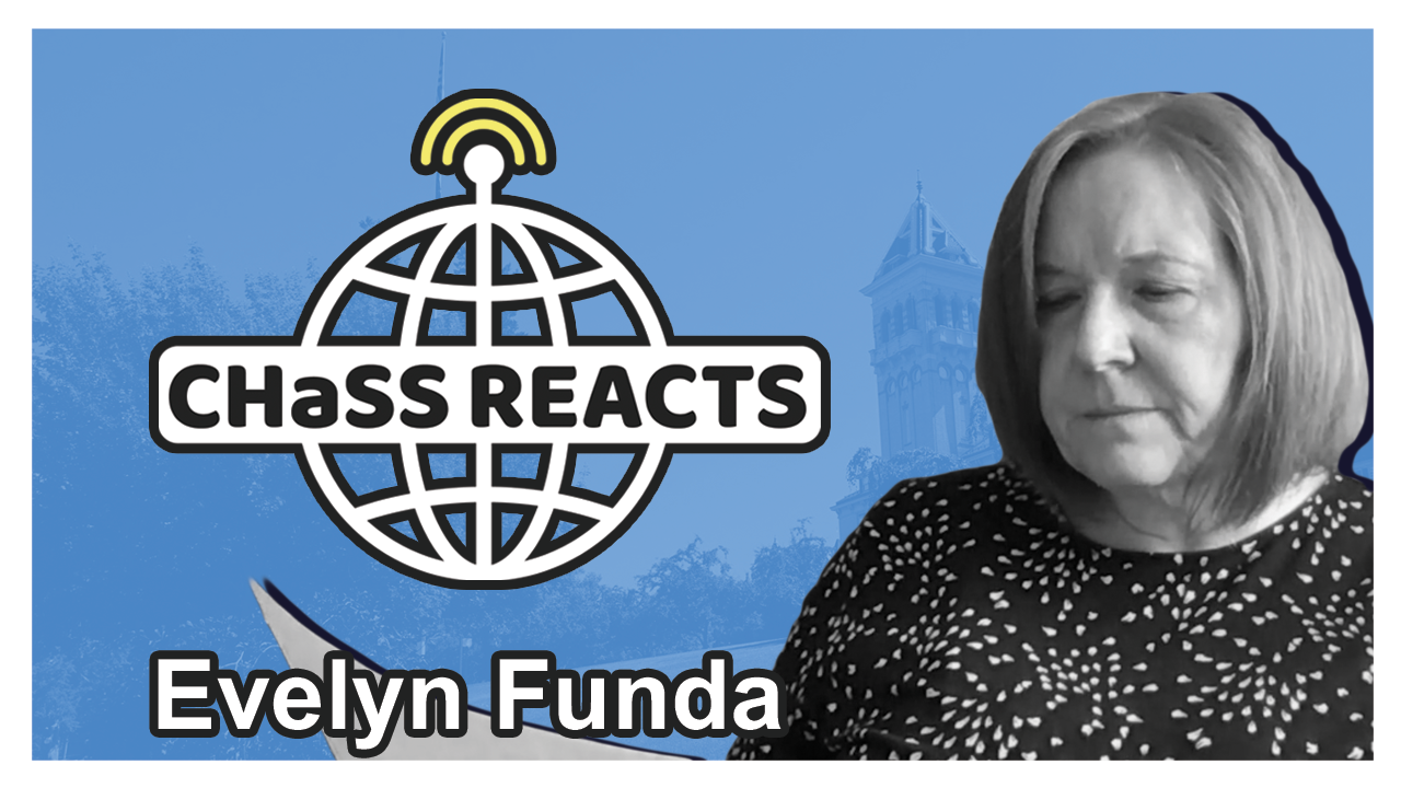 CHaSS Reacts: Evelyn Funda reads excerpt from Pale Horse, Pale Rider